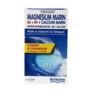 Magnesium + calcium 100 gélules Biotechnie