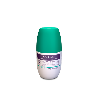 Cattier Déodorant roll-on 24h - 50ml