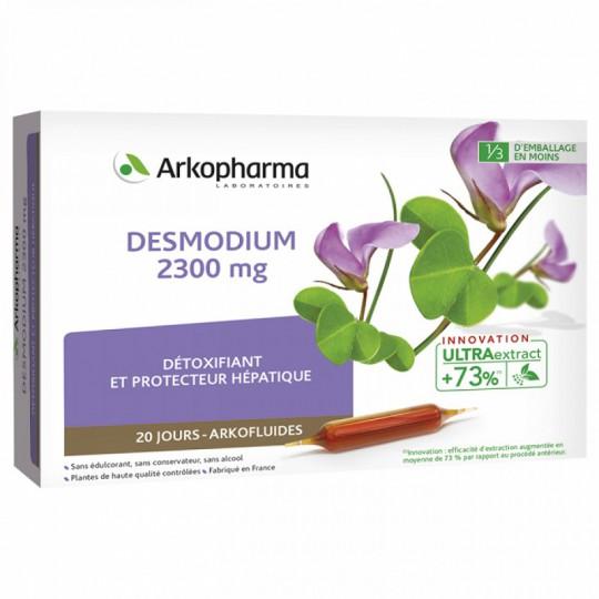 Arkofluides Desmodium 2300 mg - 20 ampoules buvables