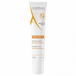 A-Derma Protect fluide invisible SPF 50+ - 40 ml