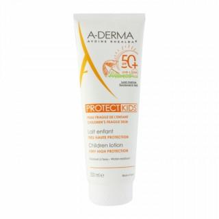 A-Derma ProtectKids lait indice 50+ - 250ml