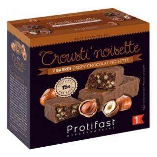 Protifast Crousti'noisette 7 barres