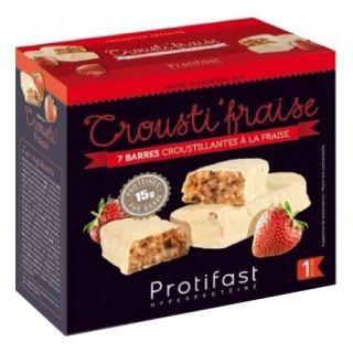 Protifast Crousti'fraise 7 barres