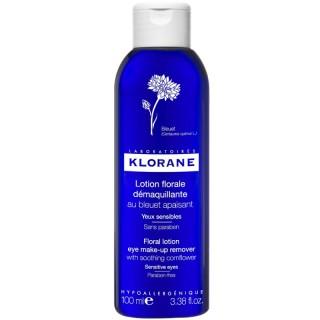 Klorane Lotion florale démaquillante au bleuet apaisant - 100ml