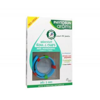 Phytosun Âroms Bracelet roll& clips anti-moustiques