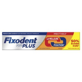 Fixodent Pro Plus Duo Action 60g