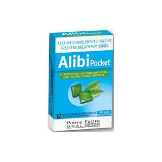 Alibi pocket sans sucre 12 pastilles