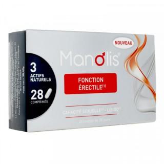 Sérélys Manolis fonction érectile - 28 comprimés
