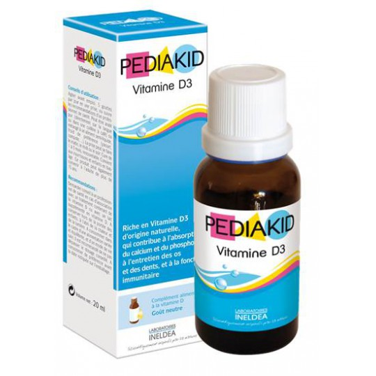 Pediakid vitamin d3 Bottle 20ml