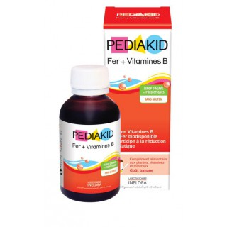 pediakid fer+vit b 125ml