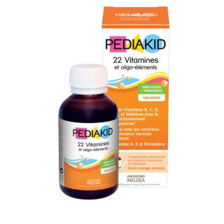 Pediakid 22 Vitamines Et Oligo-Élements sirop 250 ml