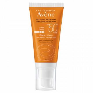 Avène Crème SPF 50+ sans parfum - 50ml