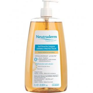 Neutraderm gel douche surgras dermo-protecteur - 1 L