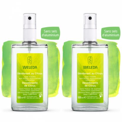 Weleda Déodorant au citrus 100ml DUO