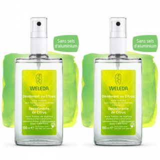 Weleda Citrus Deodorant package 100ml