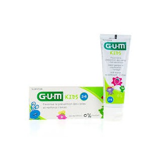 G.U.M kids dentifrice fraise 2-6 ans 50ml
