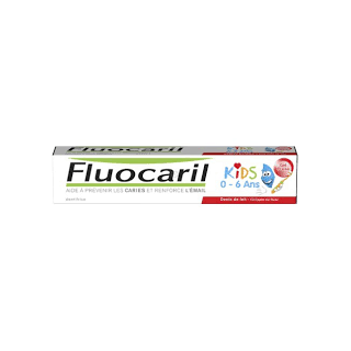Fluocaril Gel Dentifrice Kids Fraise 50ml
