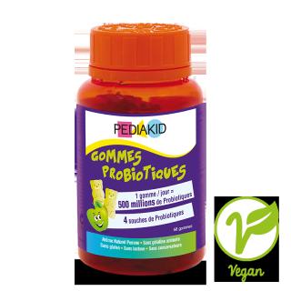 Pediakid Gommes probiotiques - 60 gommes