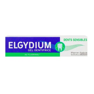 Elgydium Gel Dentifrice Dents Sensibles 75 ml