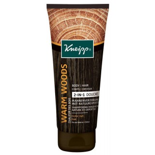 Kneipp Warm Woods shampooing-douche 2 en 1 homme - 200ml