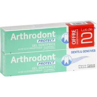 Arthrodont protect gel dentifrice 2x75ml