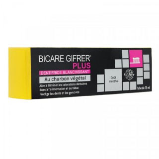 Bicare gifrer plus dentifrice blanchissant 75ml