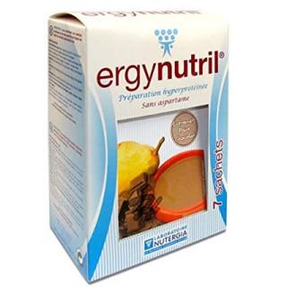 Nutergia Ergynutril entremets poire chocolat - 7 sachets