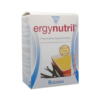 Nutergia Ergynutril entremets vanille - 7 sachets