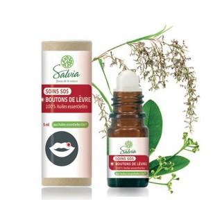 Salvia Roll-on SOS Boutons de lèvre - 5ml
