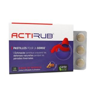 Santé Verte Actirub - 15 pastilles