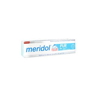 Méridol Pur dentifrifice 0% 75ml