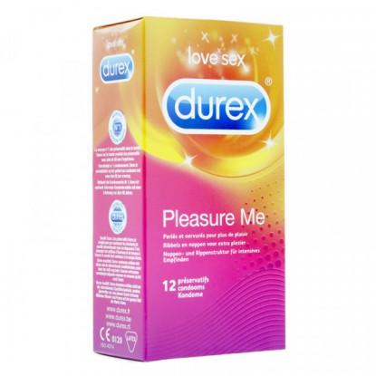 Durex Preservatif Pleasure Max 12