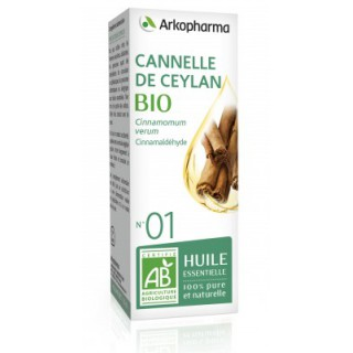 Arkopharma Huile essentielle cannelle de ceylan bio - 01