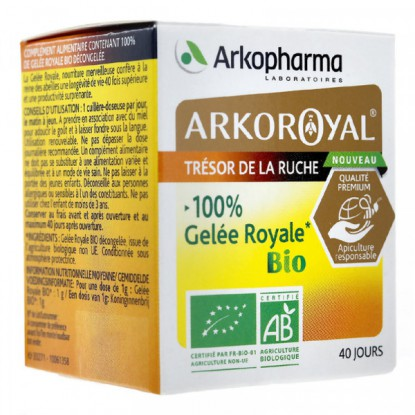 Arko Royal 100% gelée royale Bio - 40g