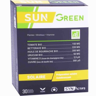 Synactifs SunGreen - 30 gélules