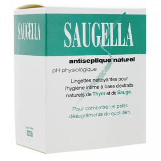 Saugella Antiseptique Boite de 15 Lingettes