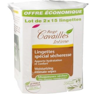 Rogé Cavaillès Lingettes Hydratantes 2x15 Lingettes