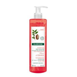 KLORANE Fleur d'hibiscus Gel douche nutrition 400ml