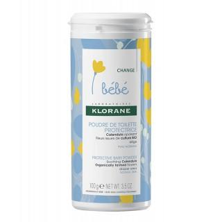 Klorane bébé Poudre de toilette protectrice - 100g