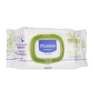 Mustela Lingettes à l'huile d'olive x50