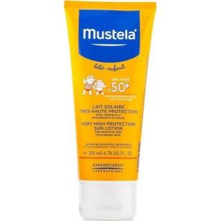 Mustela Lait crème solaire spf 50 + - 200ml