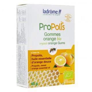 Ladrôme Propolis gommes orange Bio - 45g