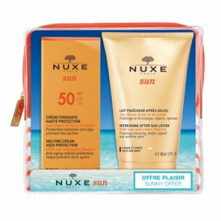 Nuxe Sun Cream box 50SPF + fresh milk 100ml