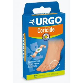 Urgo Coricide 12 Pansements Adhesifs