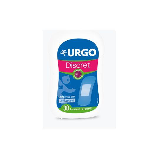 Urgo 30 Transparent Discreet Plasters