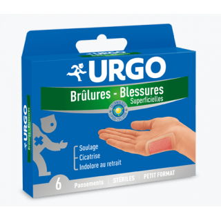 Urgo Brûlures - Blessures superficielles