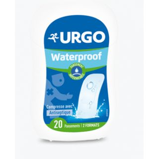 Urgo waterproof plasters box 20