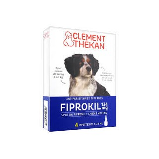 Fiprokil chien 10/20 pipette 4