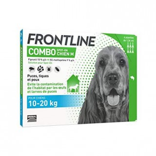 Frontline Combo 10-20kg bte 6 pipettes