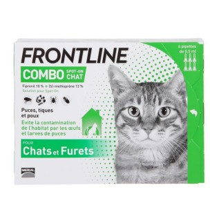 Frontline Combo Chat 6 pipettes